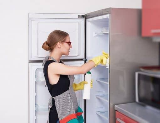 como arrumar uma geladeira