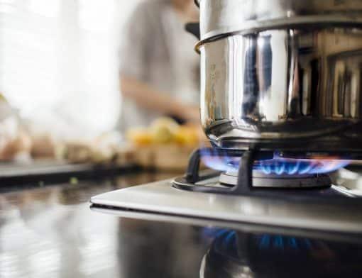fogão de embutir ou cooktop